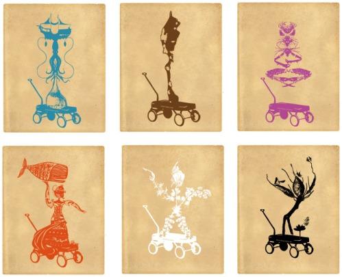 Mur-de-totems-couleurs