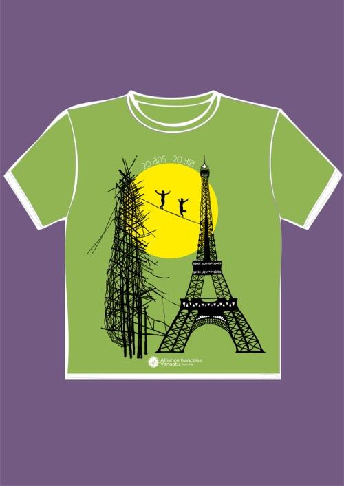 T-shirtavert-gaul-eiffel
