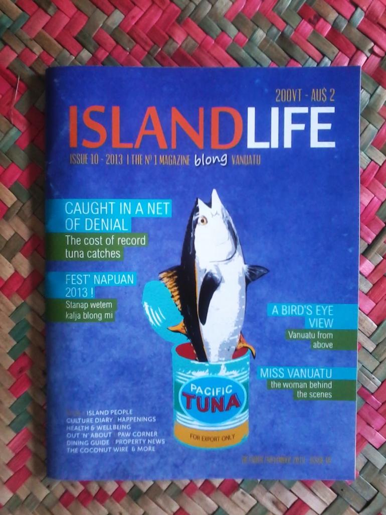 Island Life Tuna Cover