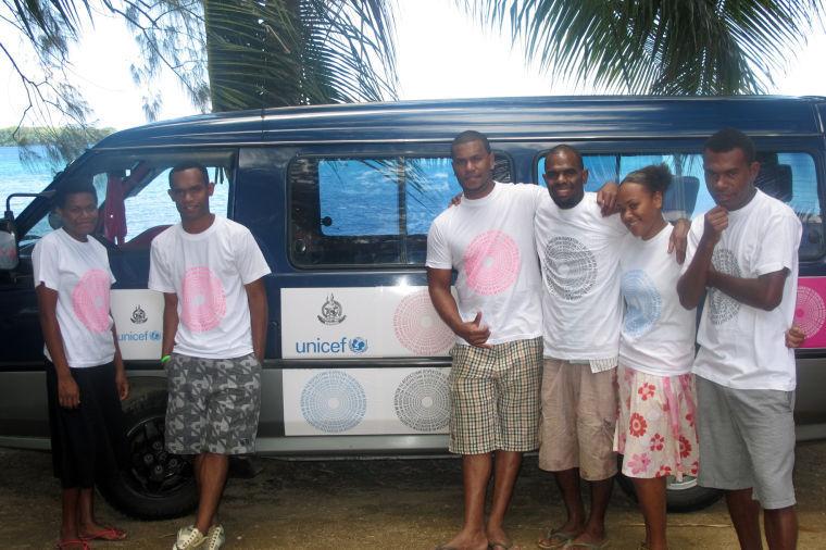 UNICEF RISPEKT VAN