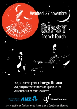 Gipsy-French-touch-Affiche-black