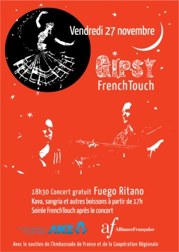 Gipsy-French-touch-Affiche-orange
