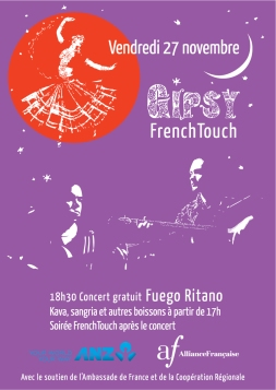 Gipsy-French-touch-Affiche-violet
