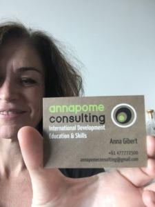 Anna's card with Anna